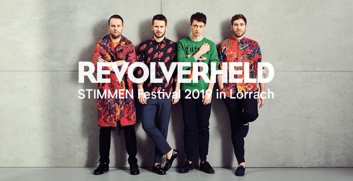 Tickets Revolverheld, Stimmen Festival 2019 in Lörrach